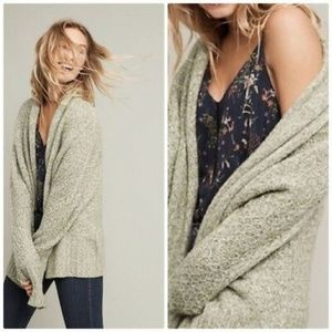 ANTHROPOLOGIE Angel of the North Chauvet Cardigan